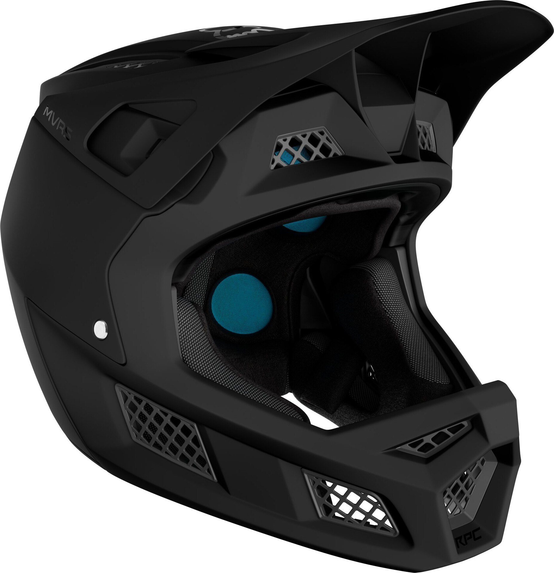 Fox Rampage Pro Carbon Full Face Helm Heren, matte black